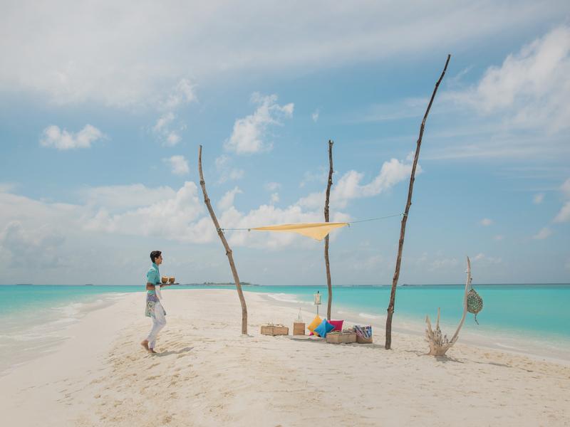 Experience - Private Sandbank Picnic 003