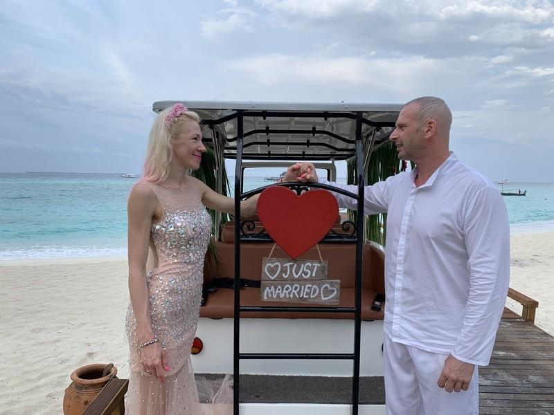 свадебный тур мальдивы