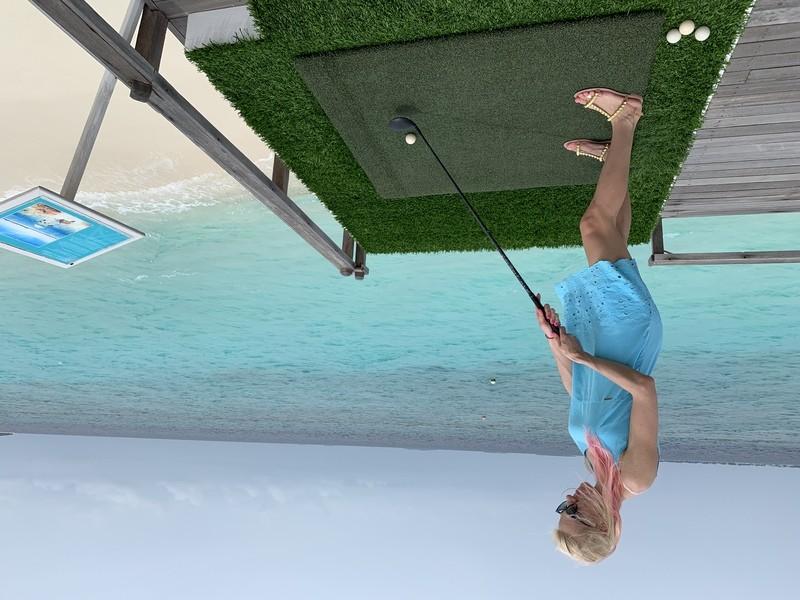 гольф на мальдивах