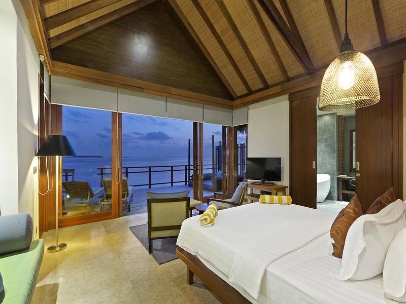 Water Villa - Room View (1)